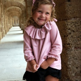 Jesusito Antelina Rosa Baby (2 piezas braga rosa)