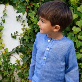 Camisa niño lino especial